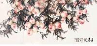 万寿图 立轴 设色纸本 - 宋步云 - 中国书画 - 2008春季大型拍卖会 -收藏网