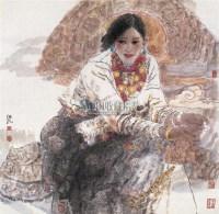 圣音 镜心 设色纸本 - 任继民 - 中国当代书画 - 2006冬季拍卖会 -收藏网