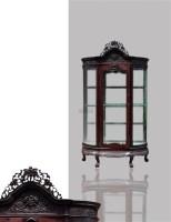 酒柜 -  - 古典家具专场 - 中矿拍卖有限公司春季艺术品拍卖会 -收藏网