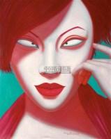 中国肖像 布面油彩 - 黄龙生 - 油画 雕塑 - 2008年春季艺术品拍卖会 -收藏网