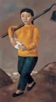锄禾 布面  油画 - 段建伟 - 现代中国艺术 - 2006秋季拍卖会 -收藏网