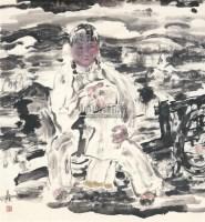 生息在塬上 软片 - 张立柱 - 中国书画 - 2011年春季艺术品拍卖会 -收藏网