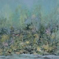 绿雾 布面 油画 - 洪凌 - 中国油画 雕塑影像 - 2006广州冬季拍卖会 -中国收藏网