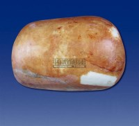 和田石包羊脂玉石 -  - 和田玉巨石专场 - 2011秋季和田玉巨石专场拍卖会 -中国收藏网