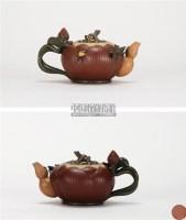 蒋蓉 荷塘月色壶 -  - 中国当代高端工艺品 - 2011年春季拍卖会 -收藏网