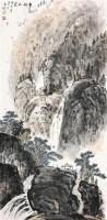 青城山色 立轴 纸本 - 137122 - 中国书画 - 2011年秋艺术精品拍卖会 -收藏网