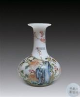 料胎珐琅彩花瓶 -  - 古董珍玩 - 2012年迎春拍卖会 -收藏网