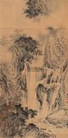 山水 立轴 设色纸本 - 马骀 - 中国书画(二) - 2006年秋季艺术品拍卖会 -收藏网