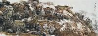 秋山空灵 镜心 设色纸本 - 131762 - 中国书画 - 2007春季中国书画拍卖会 -收藏网