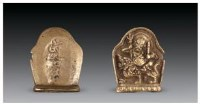 铜白财神像 -  - 佛像唐卡 - 2007春季艺术品拍卖会 -中国收藏网