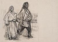 《西藏组画》画稿 纸本素描 - 153270 - 中国油画 - 2005秋季大型艺术品拍卖会 -收藏网
