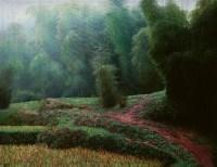 王东林 2006年作 竹林 布面 油画 - 125421 - 四川画派(油画) - 2006秋季拍卖会 -中国收藏网