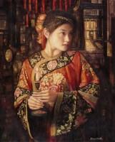 邸立丰 秉烛 - 邸立丰 - 中国油画专场 - 2007年春季艺术品拍卖会 -收藏网