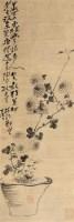 菊花 立轴 纸本 - 20883 - 文物商店友情提供 - 庆二周年秋季拍卖会 -收藏网