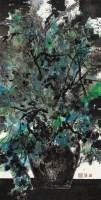 向维亚尔致敬NO.3 综合材料 - 韩伟华 - 油画 - 2009春季大型艺术品拍卖会 -收藏网