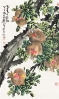 石榴图 镜心 纸本 - 曹简楼 - 名家翰墨专场 - 2011秋季拍卖会 -收藏网