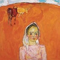 罗尔纯 2006年 土地系列 布面 油画 - 罗尔纯 - 中国油画及雕塑 - 2006秋季拍卖会 -收藏网