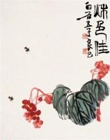 齐良已    秋色佳 - 齐良已 - 中国近现代书画 - 2007年第1期嘉德四季拍卖会 -收藏网