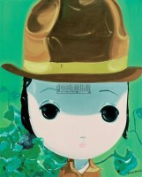 芭比 布面 油画 -  - 中国油画 - 2008年夏季拍卖会 -收藏网