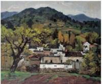 陈渐 风景 - 157178 - 广东当代油画名家 - 2007春季拍卖会 -中国收藏网