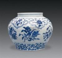 青花折枝瑞果纹罐 -  - 古代瓷器工艺品专场 - 2008春季艺术品拍卖会 -收藏网