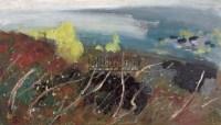 苏天赐 春风掠过太湖 - 苏天赐 - 中国油画雕塑 - 2006秋季拍卖会 -收藏网