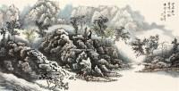 空谷无人 镜心 设色纸本 -  - 风雅颂·中国书画 - 首届当代艺术品拍卖会 -收藏网