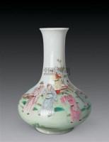 民国 粉彩人物瓶 -  - 瓷器玉器工艺品 - 2007秋季艺术品拍卖会 -收藏网