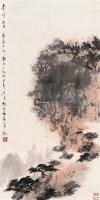 山水 立轴 设色纸本 - 116002 - 中国书画私人收藏专场 - 2009春季大型艺术品拍卖会 -中国收藏网