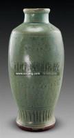 龙泉窑几何纹梅瓶 -  - 古董珍玩 - 2011春季艺术品拍卖会 -收藏网