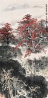 鹧鸪声里木棉红 立轴 设色纸本 - 林丰俗 - 中国当代书画 - 2006冬季拍卖会 -中国收藏网