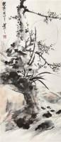 双清图 立轴 设色纸本 - 116639 - 中国书画(二) - 2011年夏季拍卖会 -收藏网