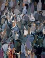 瓶子 布面 油画 - 夏俊娜 - 中国油画 雕塑影像 - 2006广州冬季拍卖会 -收藏网