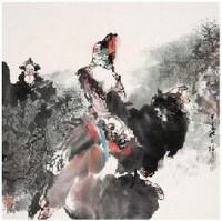 胡正伟 人物 立轴 - 胡正伟 - 中国书画 - 2007年金秋拍卖会 -中国收藏网