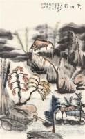 云山图 镜片 - 119233 - 中国书画 - 2011年春季艺术品拍卖会 -收藏网