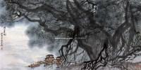 闽江春晓 镜心 设色纸本 - 张登堂 - 中国画当代名家精品 - 2005首届中国画当代名家精品拍卖会 -中国收藏网