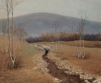 陈海根 风景 布面 油画 -  - 中国油画 - 2006年秋季拍卖会 -中国收藏网