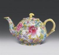 粉彩百花壶 -  - 中国艺术精品 - 齐白石国际文化艺术节中国艺术精品拍卖会 -中国收藏网