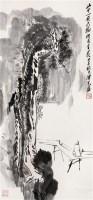 山水 立轴 水墨纸本 - 116646 - 中国书画专场 - 2008第三季艺术品拍卖会 -收藏网