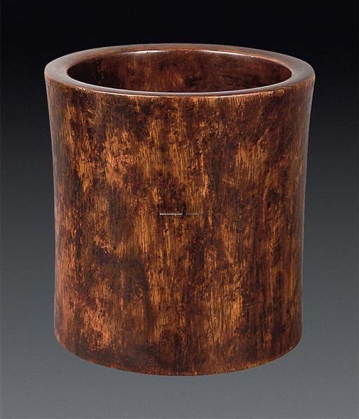 木雕素面笔筒  上一张下一张