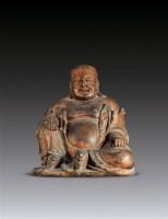 大肚弥勒佛像 -  - 妙法修心(一)——佛像专场 - 2011年秋季艺术品拍卖会 -收藏网
