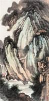 峨眉古刹 立轴 设色纸本 - 127738 - 中国书画 - 2007年秋季大型艺术品拍卖会 -中国收藏网