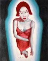 无题 布面油彩 - 黄龙生 - 油画 雕塑 - 2008年春季艺术品拍卖会 -收藏网