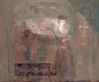 春曲 布上 油彩 - 冷宏 - 西洋美术 - 2005秋季艺术品拍卖会 -中国收藏网