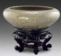 哥釉笔洗 -  - 古董珍玩 - 2011春季艺术品拍卖会 -收藏网