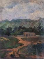 沉香雕七级浮屠佛山 -  - 中国油画 - 2006年秋季拍卖会 -收藏网