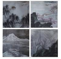 陳文淵   四季佳景 -  - 中国书画 - 2008春季艺术品 -中国收藏网