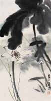 赵蕴玉 清韵 立轴 设色纸本 - 赵蕴玉 - 中国书画紫砂茗壶 - 2006年秋季拍卖会 -收藏网