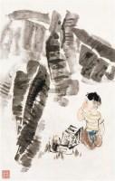 童趣 镜心 设色纸本 - 124317 - 艺苑藏珍—中国书画二 - 2011秋季中国书画拍卖会 -收藏网