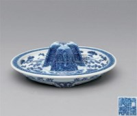 青花云鹤纹爵托 -  - 古代瓷器工艺品专场 - 2008春季艺术品拍卖会 -收藏网